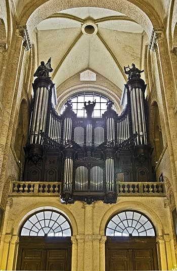 1888 Cavaillé-Coll organ at St. Sernin, Toulouse, France