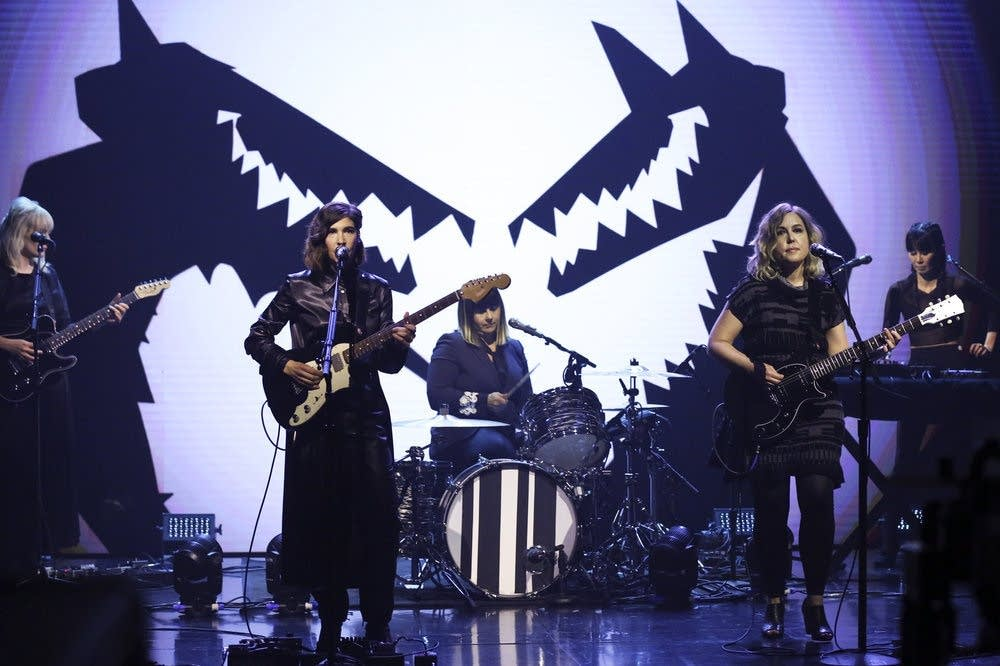 Sleater-Kinney perform on 'The Tonight Show Starring Jimmy Fallon'