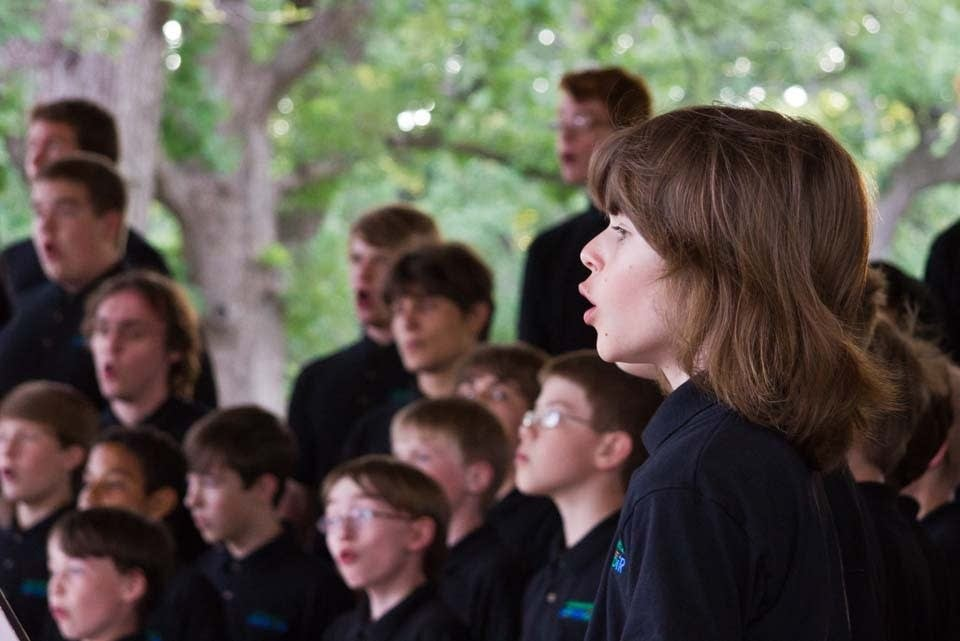 Minnesota Boy Choir at Harmony in the Park 2012