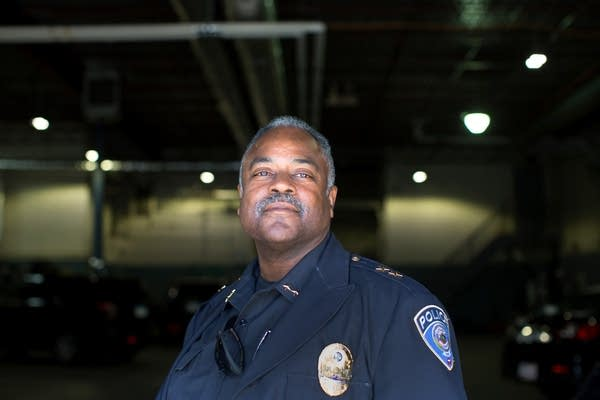 Metro Transit Police Chief John Harrington