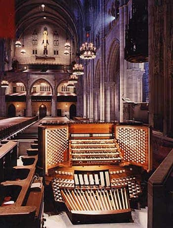 1953 Aeolian-Skinner organ, Opus 1118, at Riverside, New York, New York