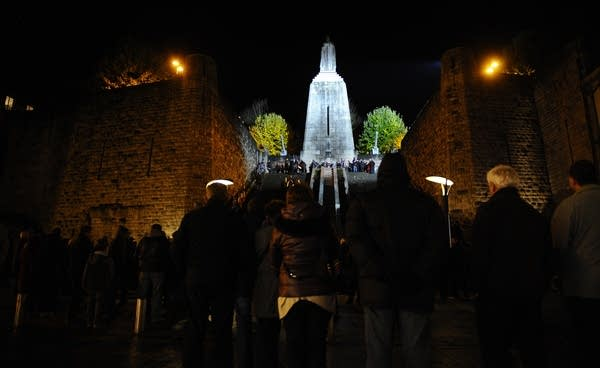 Victory Monument in Verdun, eastern France