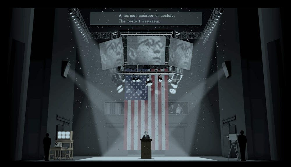 The Manchurian Candidate set design