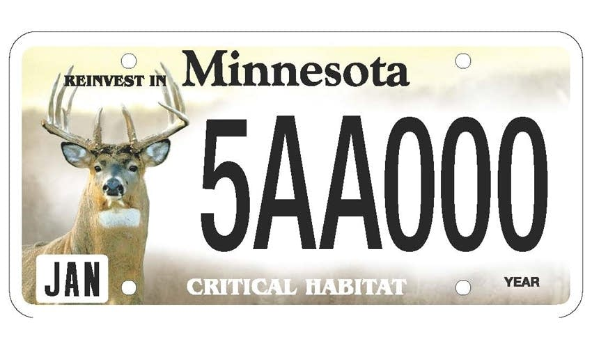 New plates could put a walleye, chickadee or whitetail on your ...