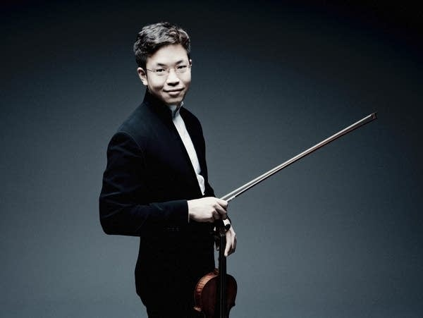 Violinist Paul Huang
