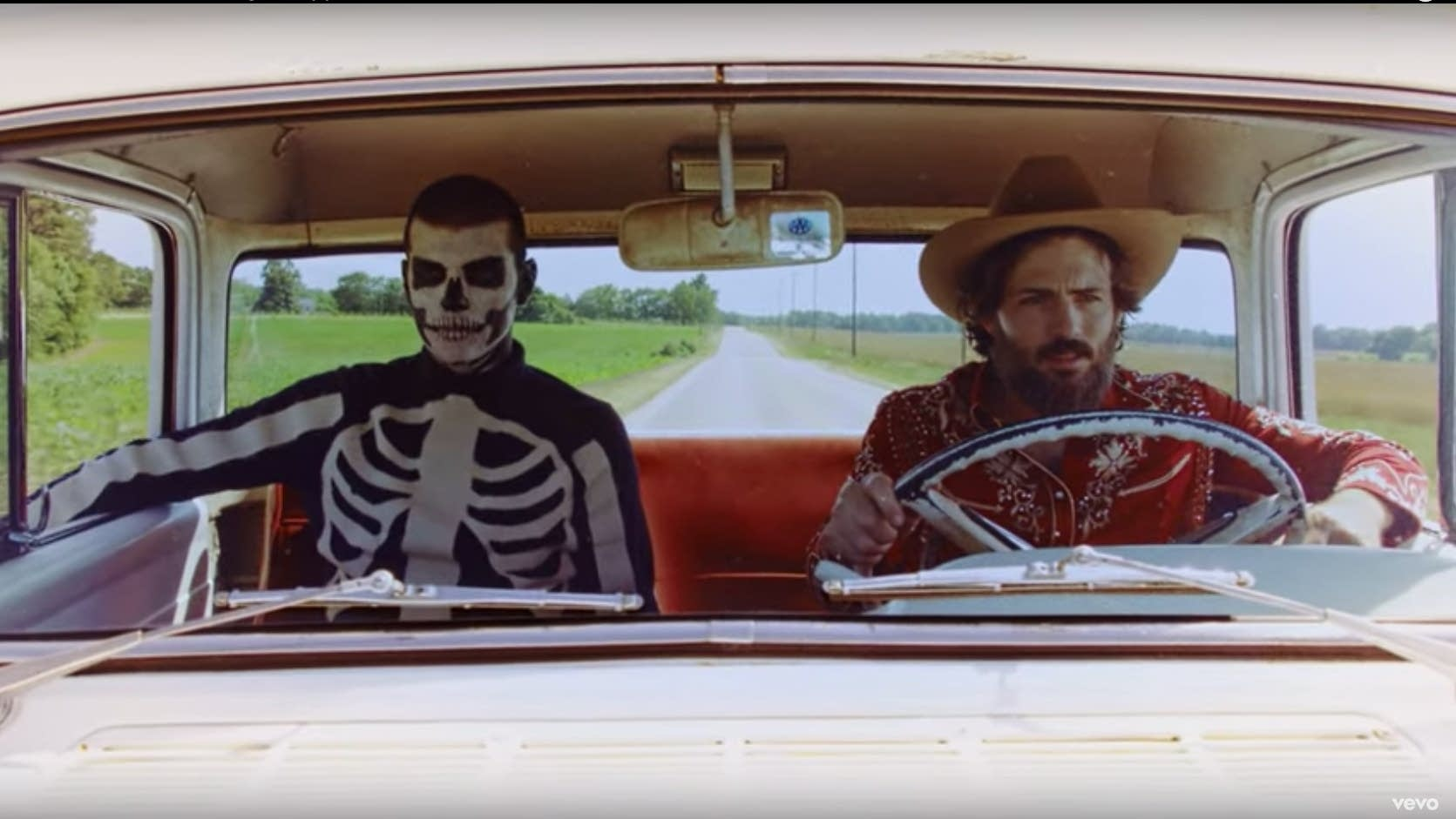 Scenes from the Avett Brothers' new video, 'High Steppin''