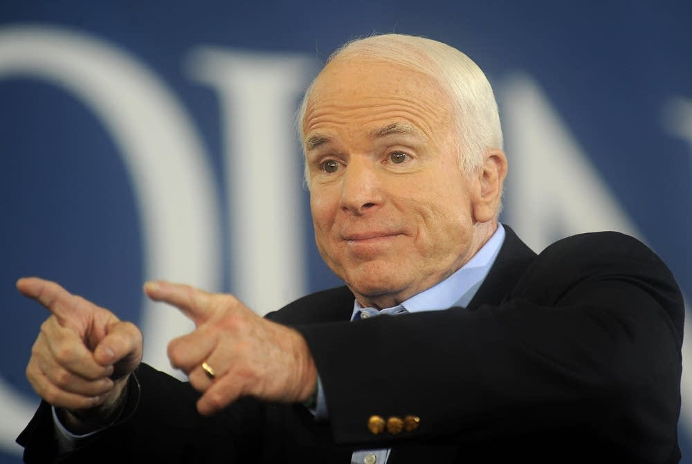 Republican candidate John McCain in Pennsylvania