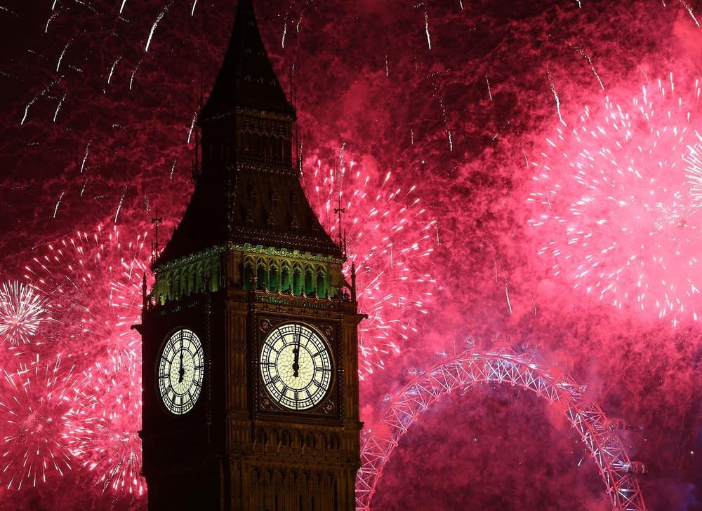 London Celebrates New Year's Eve