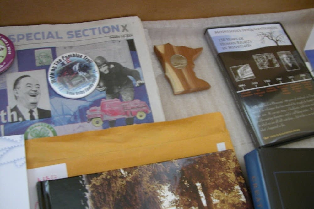Objects for the time capsule