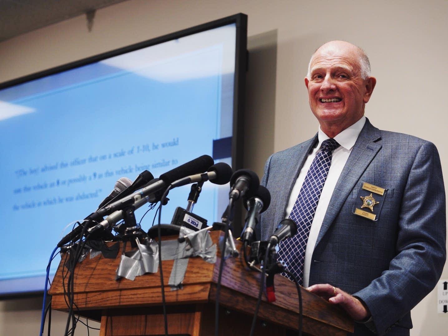 Stearns County Sheriff Donald Gudmundson