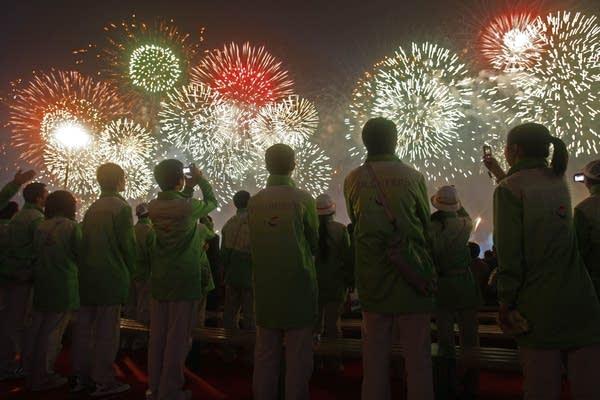 World's Fair fireworks