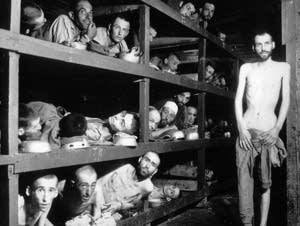 Prisoners of the German Buchenwald concentration camp