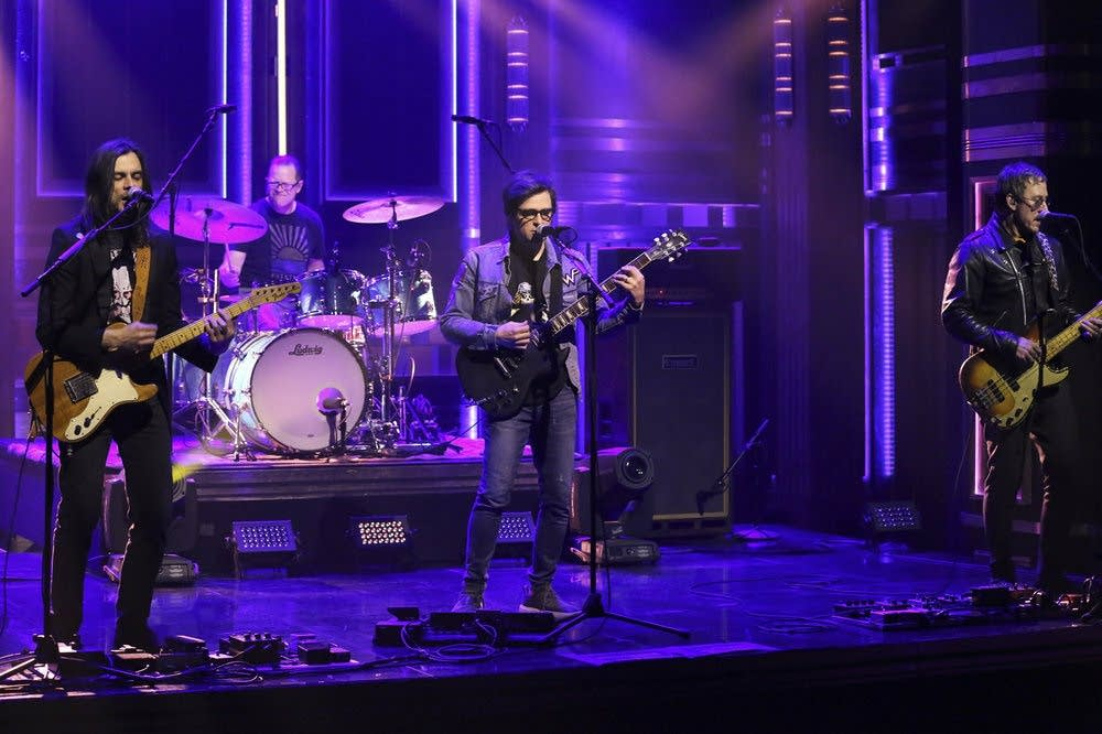 Weezer perform on 'The Tonight Show Starring Jimmy Fallon'