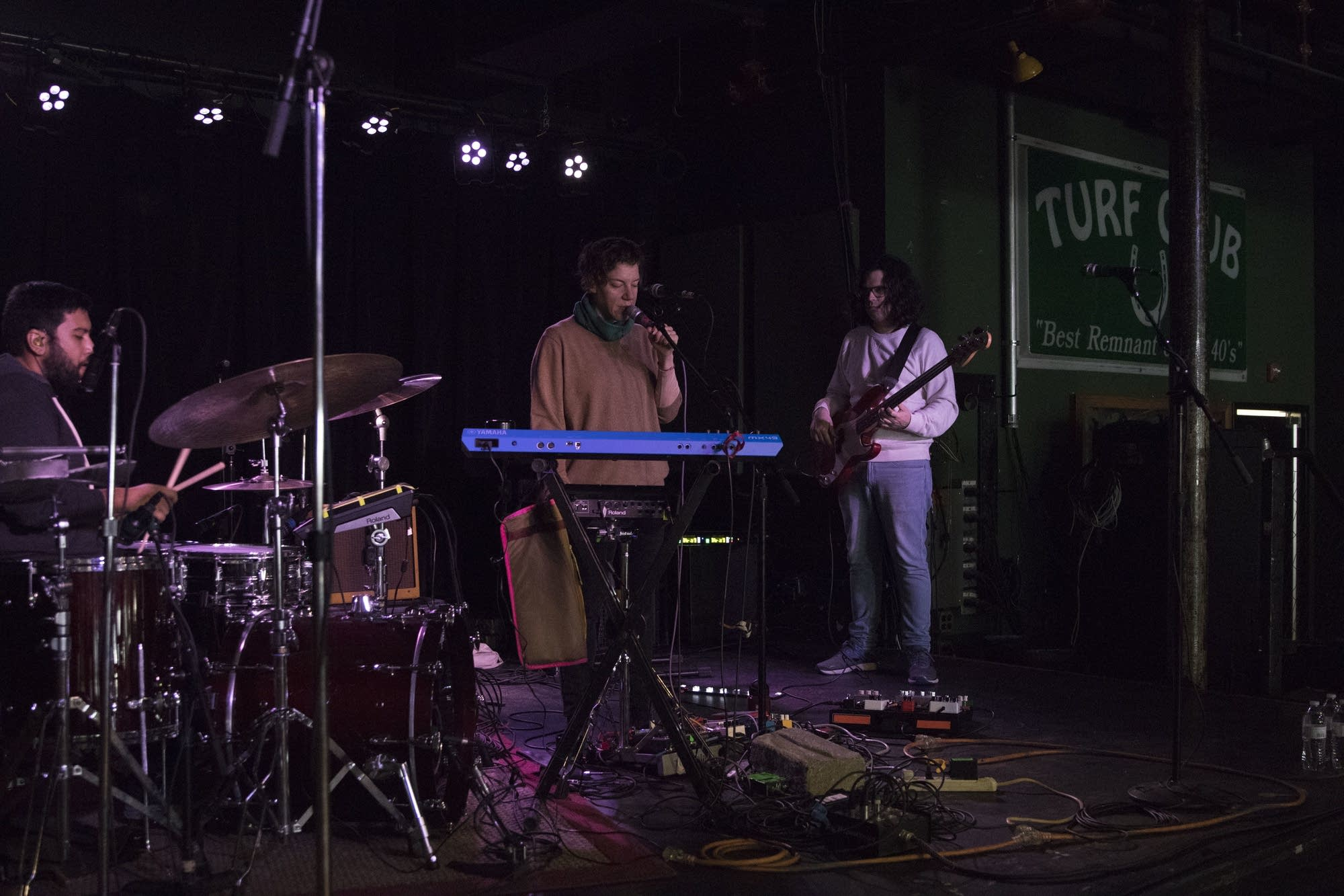 Tune-Yards MicroShow at the Turf Club