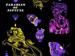 Parables of Neptune's self-titled EP cover