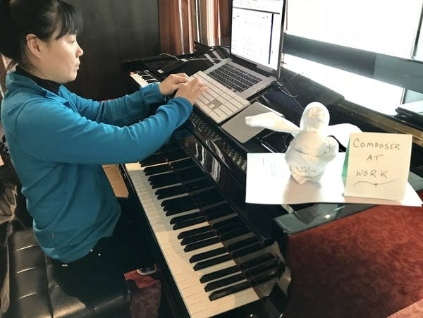 Composer and pianist Wang Jie