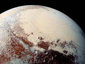 Combined image of Pluto