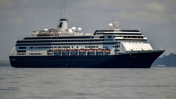 Holland America's cruise ship Zaandam