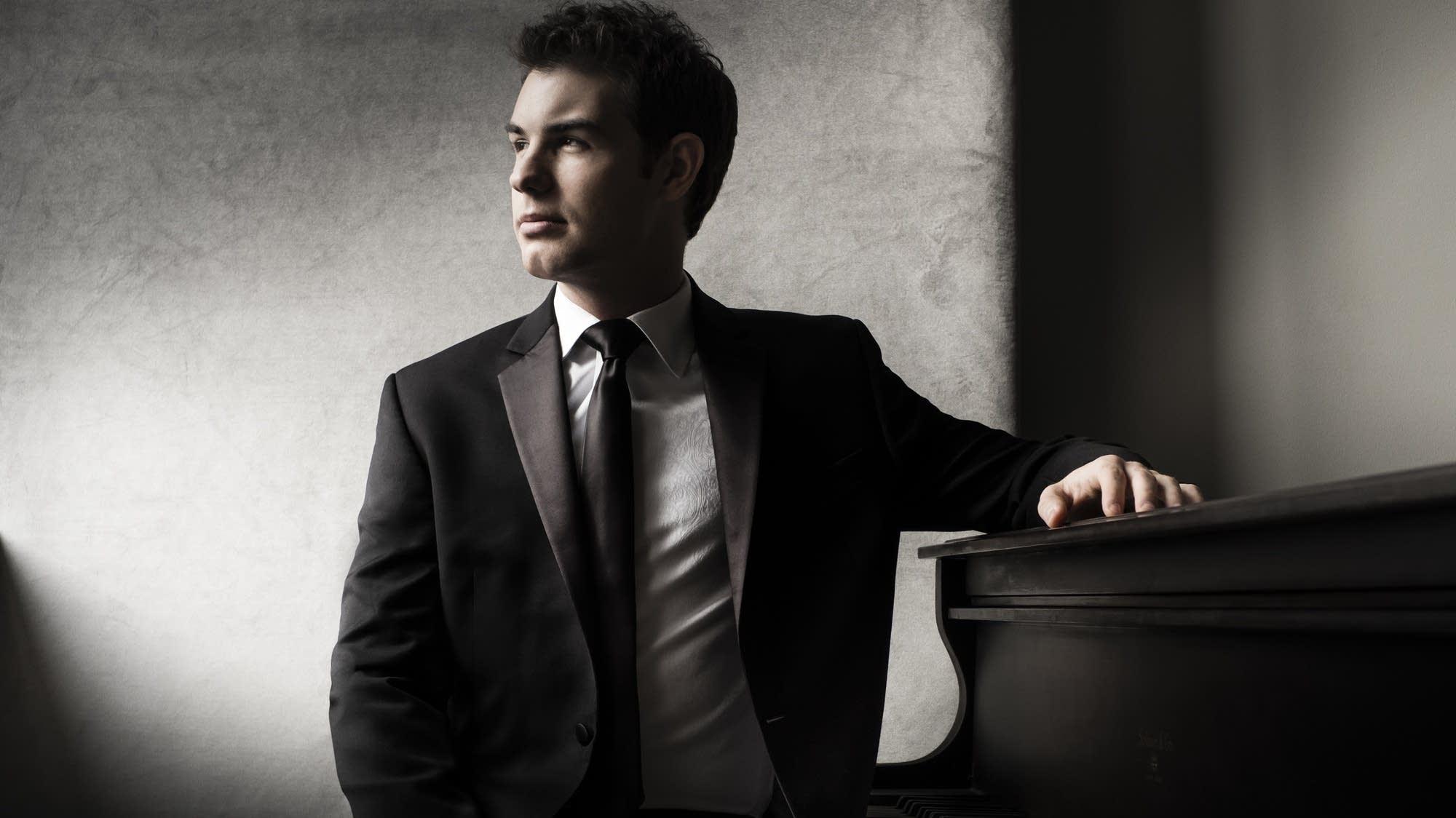 Man sitting at piano
