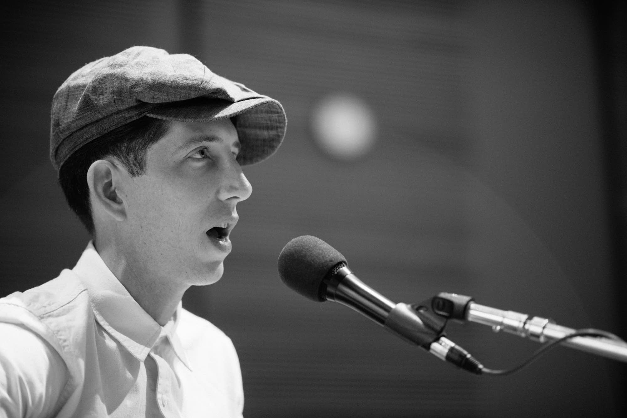 Pokey LaFarge performs in The Current studio