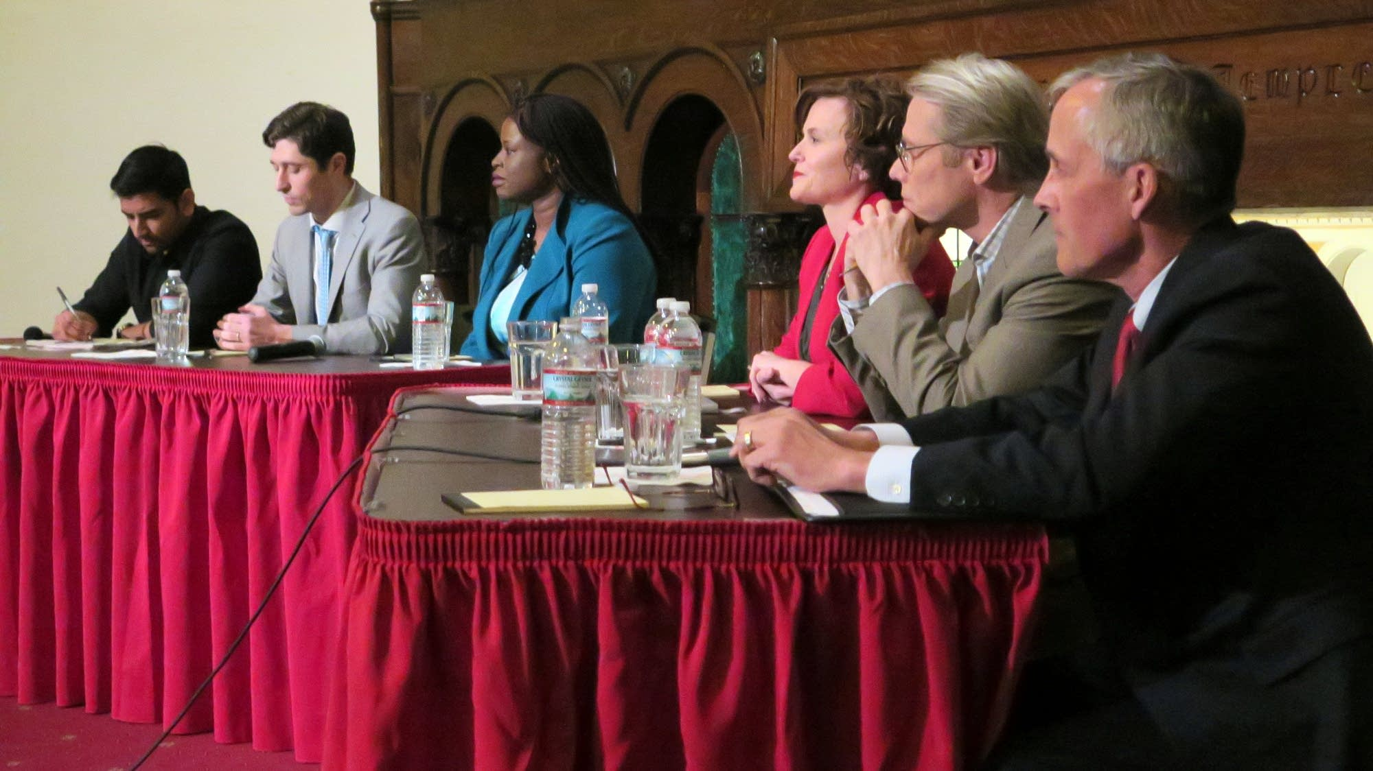 Candidates running for mayor of Minneapolis participated in a forum.