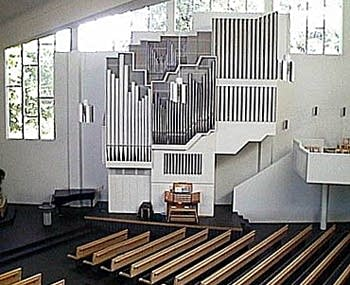 1979 Virtanen organ at the Church of the Cross, Lahti, Finland