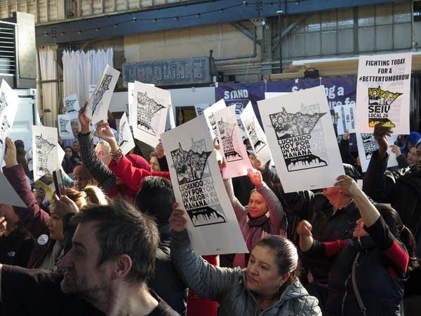 SEIU Local 26 members vote to authorize strike
