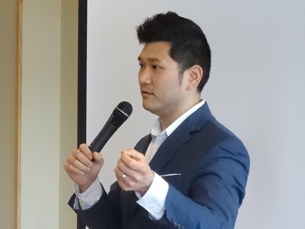 "Wayne Kangas,""ambassador"" for K America Foundation, is a Korean adoptee."