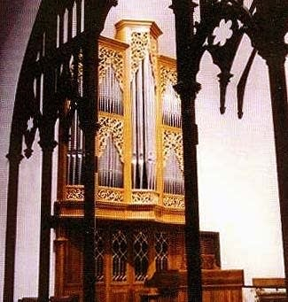 1990 Wolff organ at Christ Church Cathedral, Indianapolis, IN
