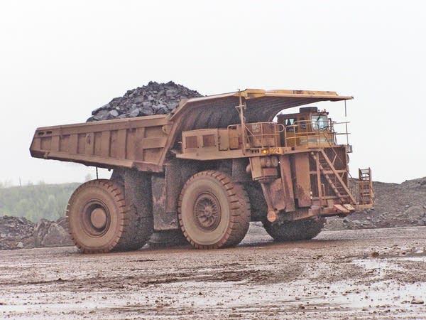 Mining truck, Hibbing Taconite