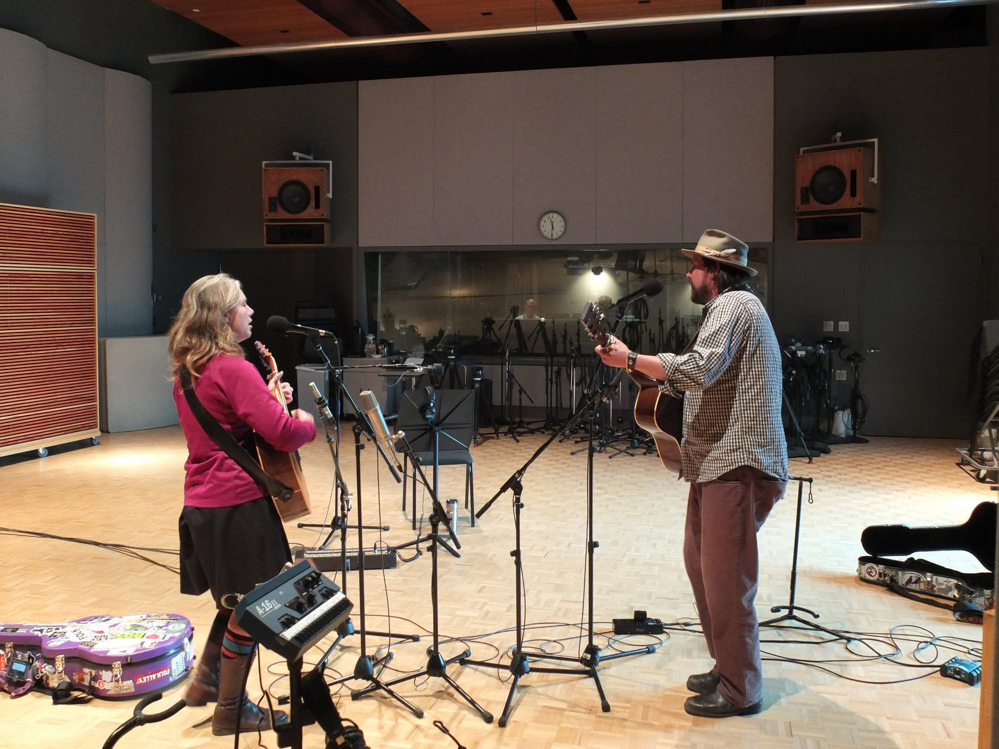 The Small Glories perform at Radio Heartland