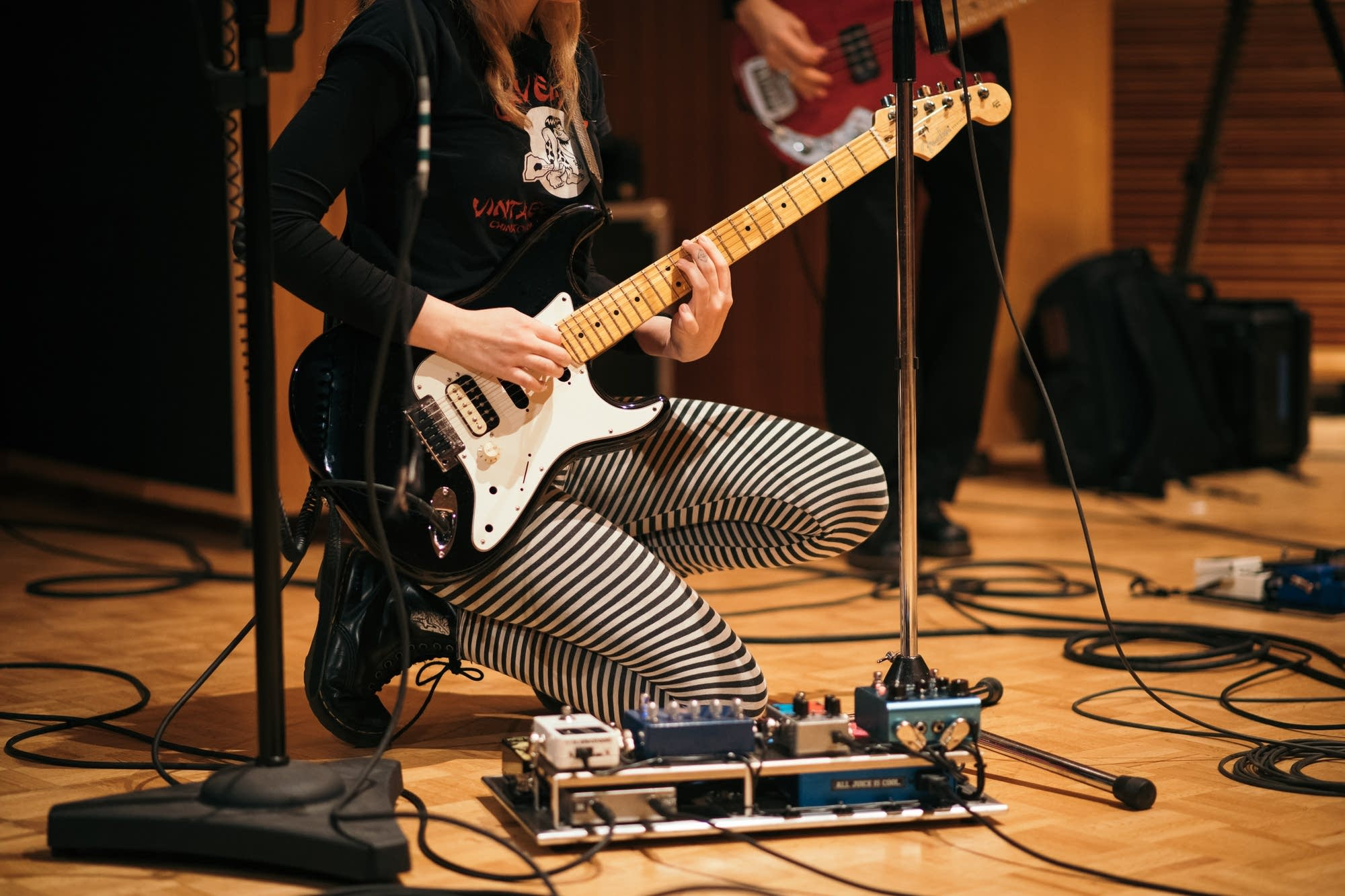 Cherry Glazerr perform at The Current