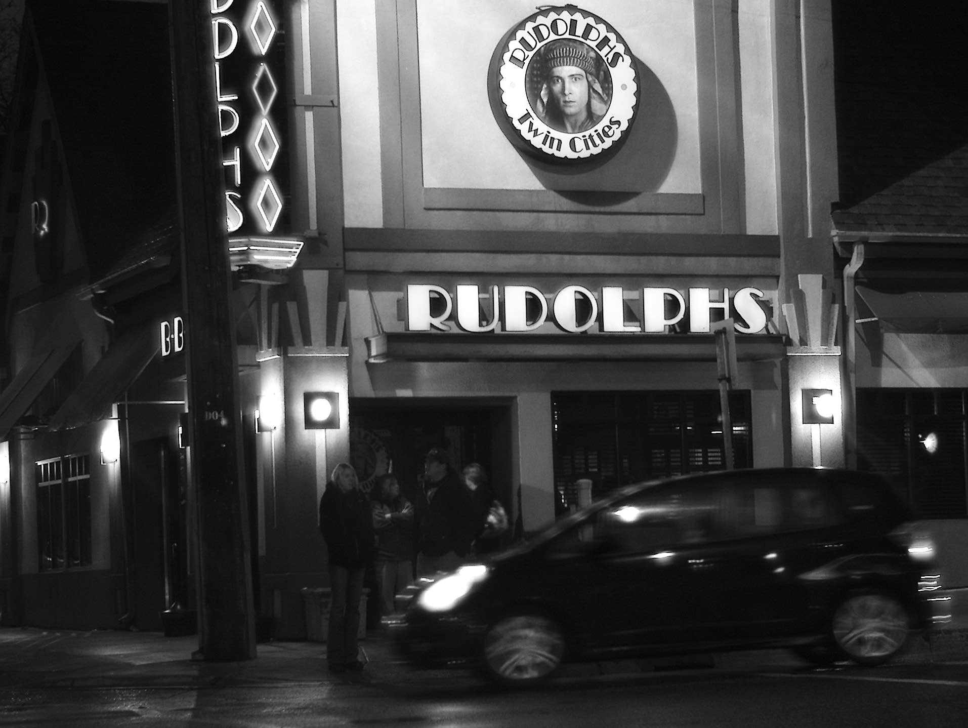 Rudolphs Bar-B-Que, photographed in 2009.