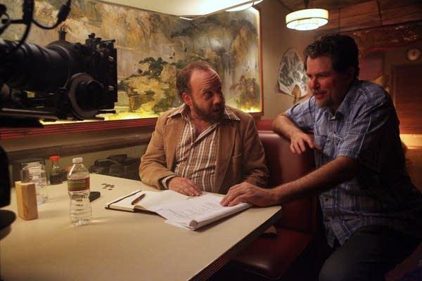 Paul Giamatti and Don Coscarelli