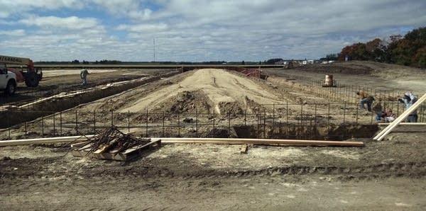 Construction of Parkland Place Apartments