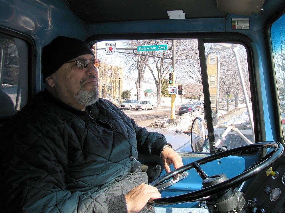 Truck driver Joe Salinas