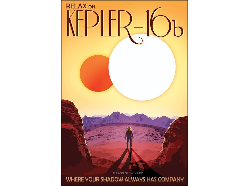 Relax on Kepler-16b: Where your shadow has company