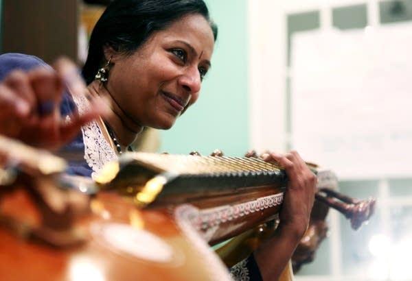 Teaching Carnatic music