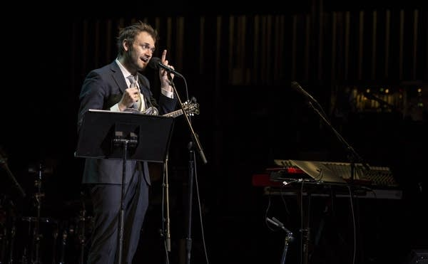 Chris Thile Opens