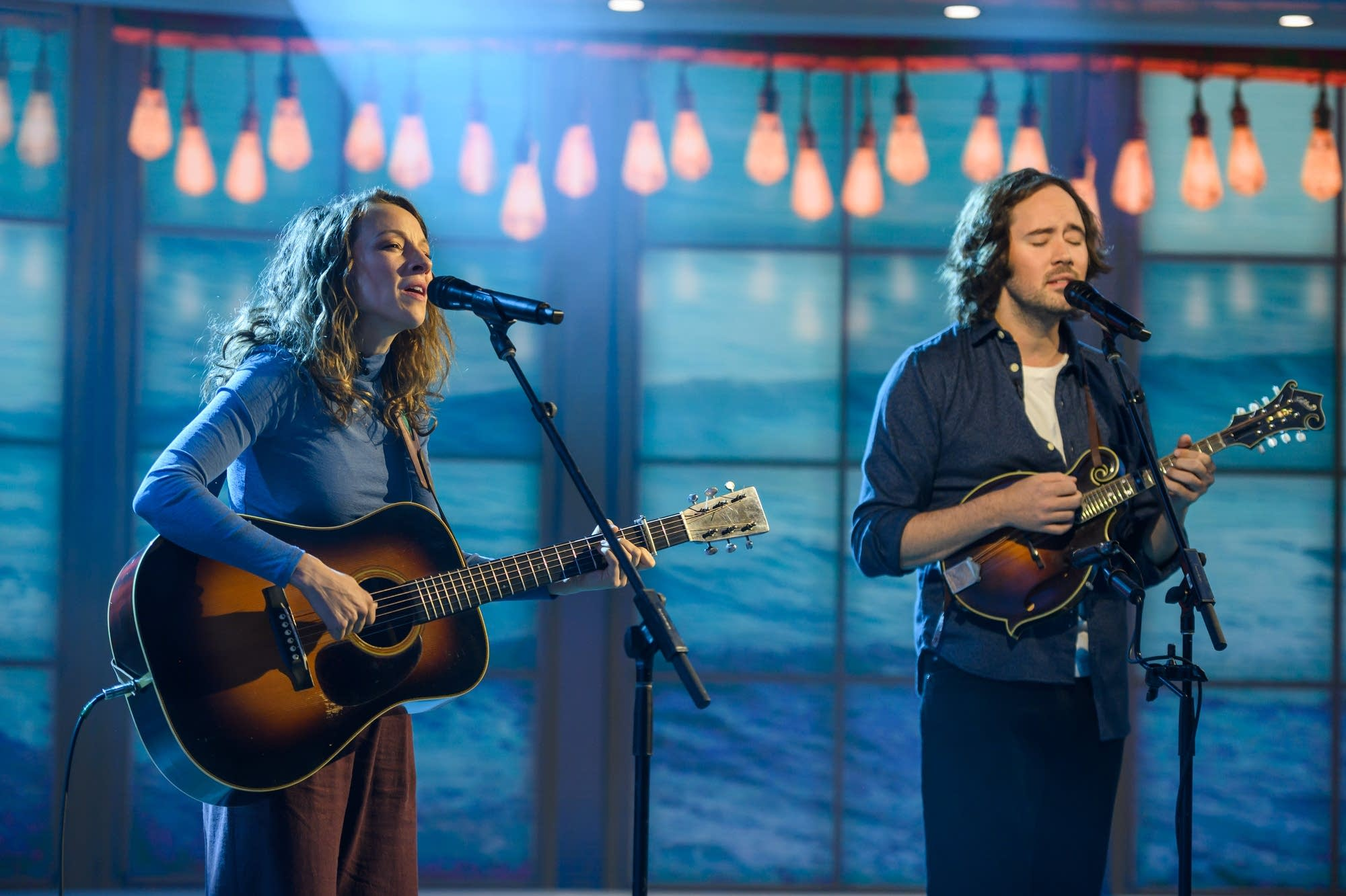 Mandolin Orange performing on NBC Today show