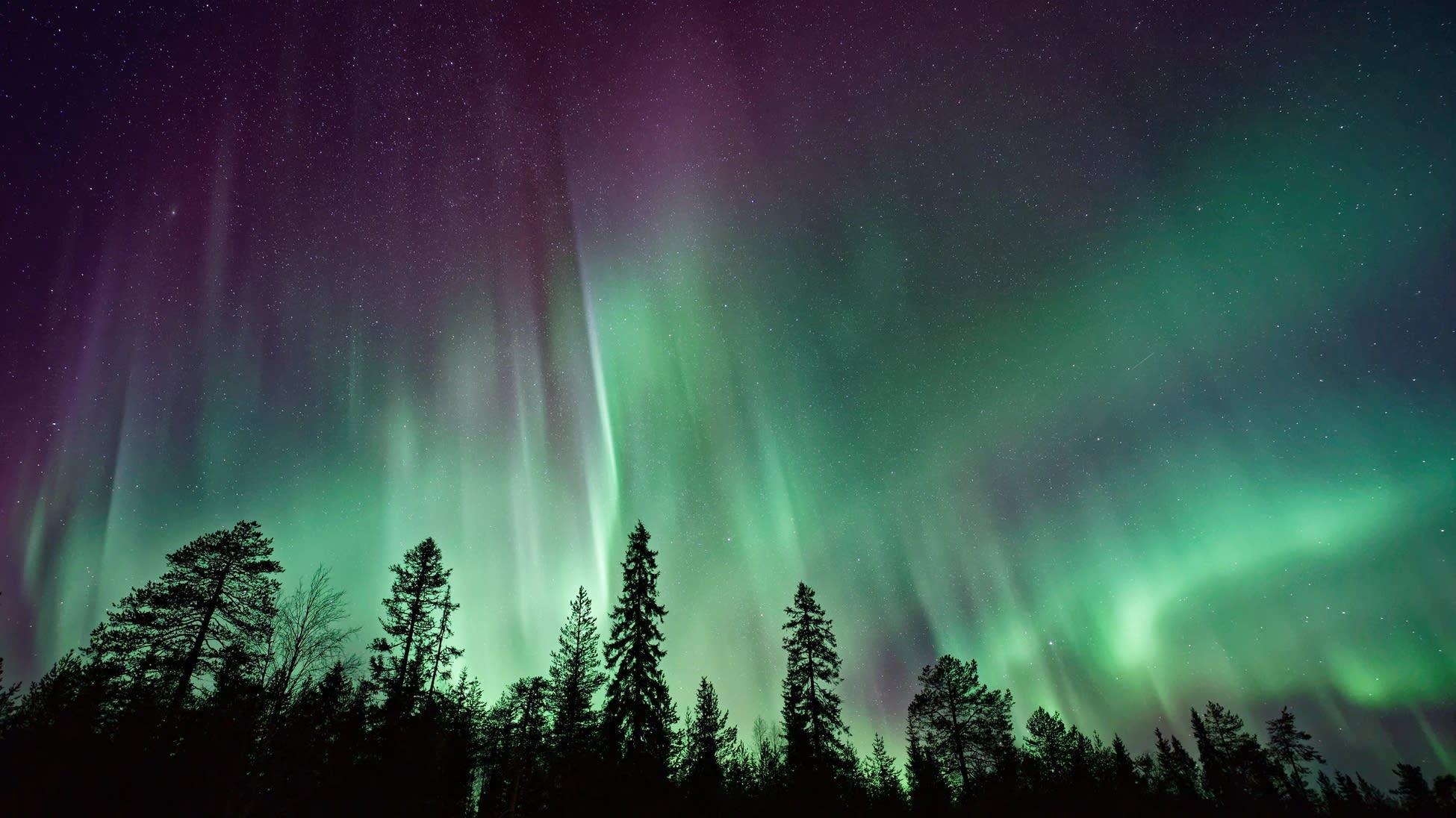 The Aurora Borlealis.