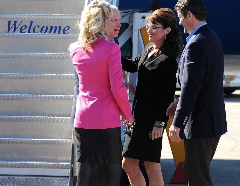 John McCain and Sarah Palin in Ohio