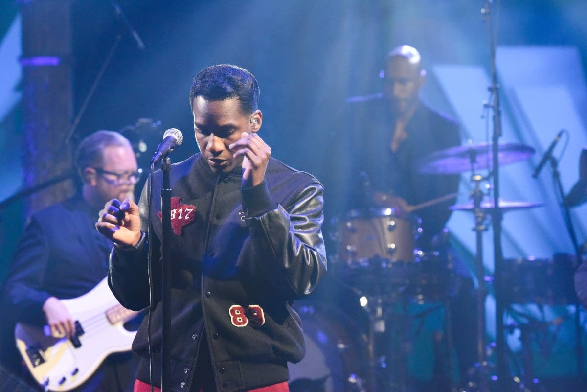 Leon Bridges on 'The Late Show with Stephen Colbert'