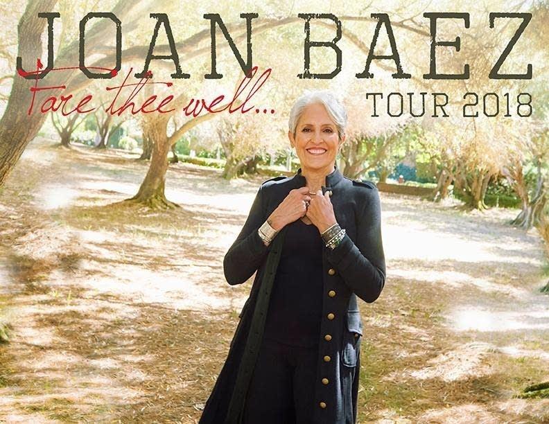 Joan Baez Tour Poster