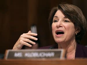 Minnesota U.S. Sen. Amy Klobuchar