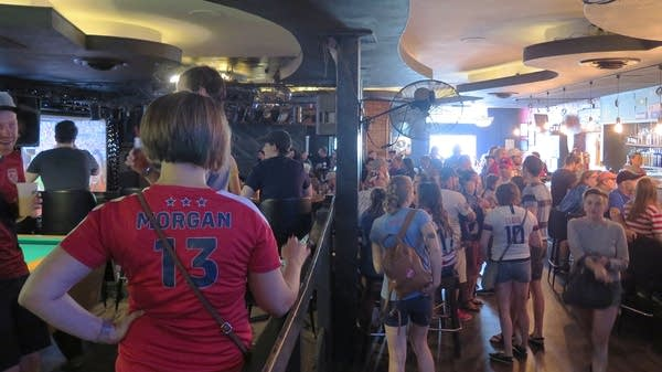 Soccer fans pack the Black Hart of St. Paul