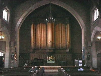 1915 E.M. Skinner organ at the Unitarian-Universalist Church, Detroit, MI