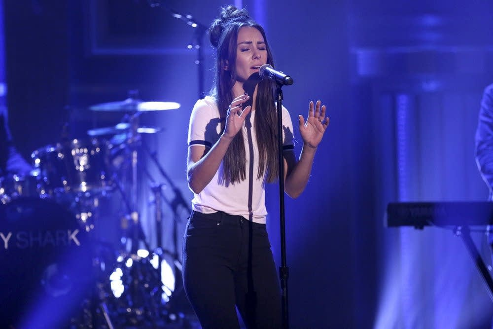 Amy Shark performs on 'The Tonight Show Starring Jimmy Fallon'
