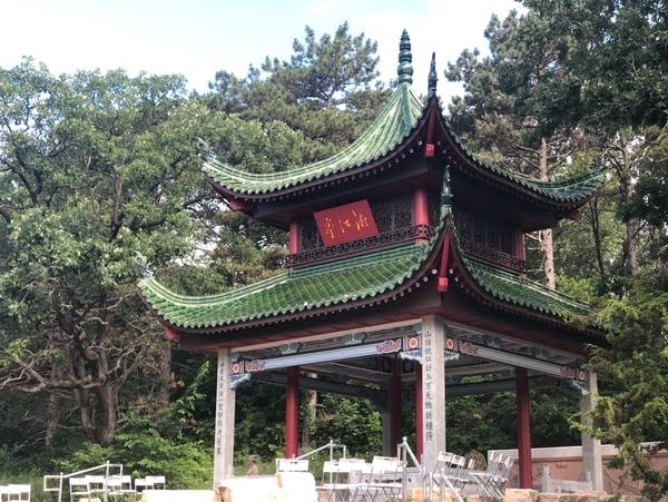 The Xiang Jiang Pavilion at St. Paul's Phalen Regional Park