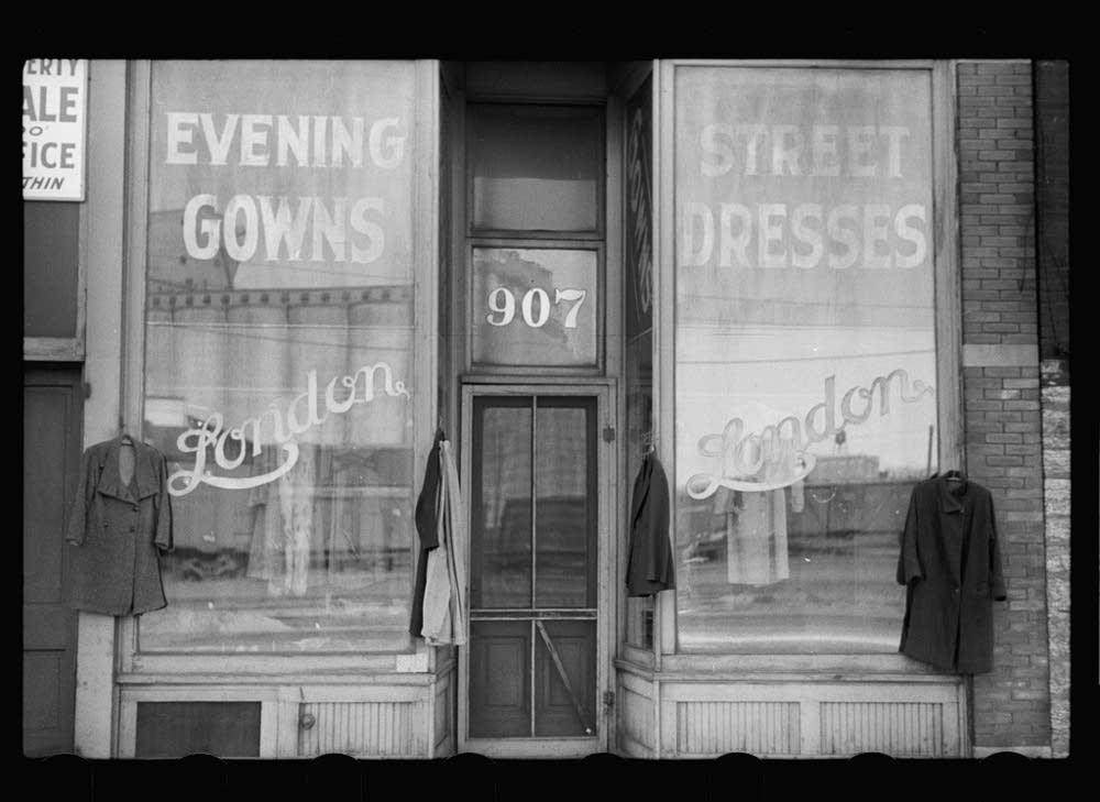 Secondhand dress shop